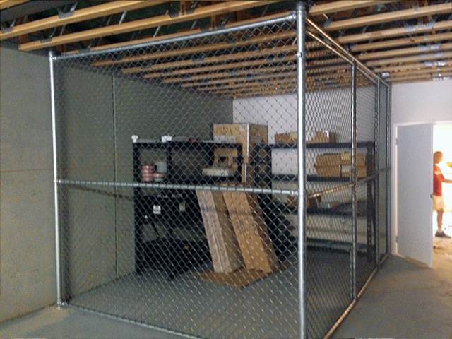 Chain Mesh Cage Fencing - Abbotsford