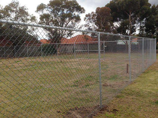 Chain Mesh Fencing - Sunbury