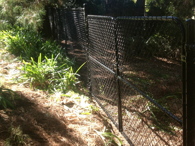 Chain Mesh Fencing & Gates - Park Orchards