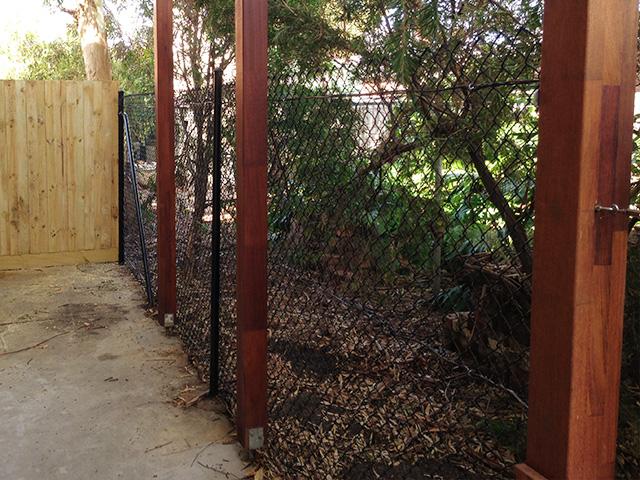 Chain Mesh Fencing - St Kilda