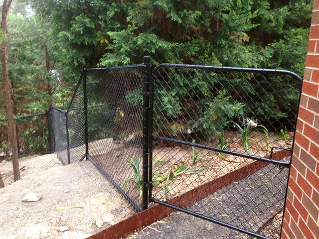 Chain Wire Fencing, Warrandyte