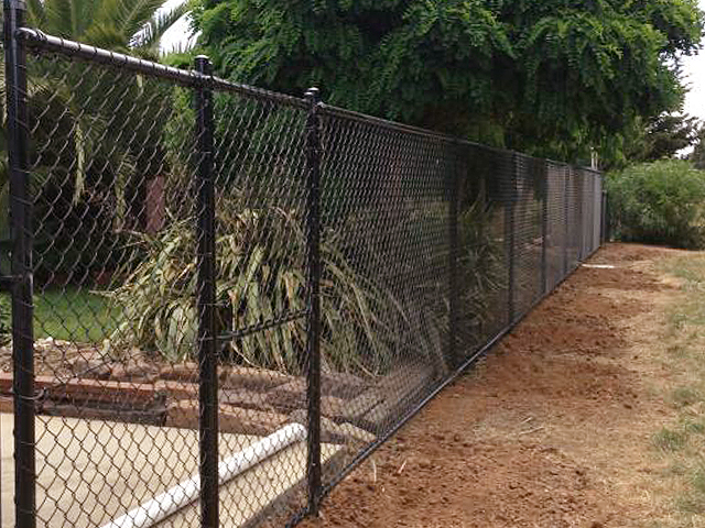 Chain Mesh Fence with Top Rail, Werribee
