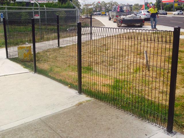 Garden Panel Fencing